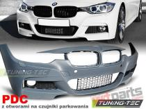 BMW F30 10.2011- M3-STYLE PDC Front Bumper  - ZPBM27