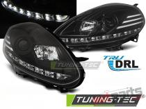 FIAT PUNTO EVO 10.09-12 BLACK DRL LED LPFI28