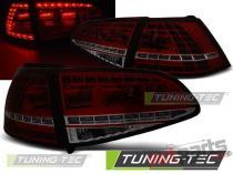 VW GOLF 7 13- RED SMOKE LED GTI LOOK LDVWG1