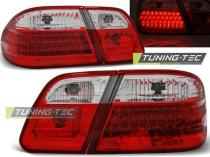 MERCEDES W210 95-03.02 RED WHITE LED taillights  - LDME28