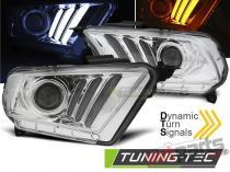 FORD MUSTANG V 10-13 headlights - LPFO70
