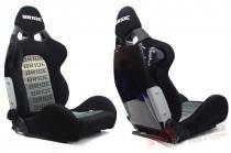 Racing seat CUGA BRIDE BLACK GREY MN-FO-021