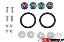 Bumper,  Trunk Fasteners Quick Release NeoChrome PP-ZM-017