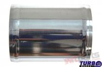 Aluminium pipe 0deg 76mm 10cm PP-IC-062