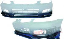Front extension for Honda Civic 1999-2000 2/3 / 4D - PP-DO-049