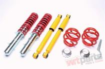 Adjustable coilover kit A3,  Leon,  Octavia,  Golf IV EVOGWVW04Q